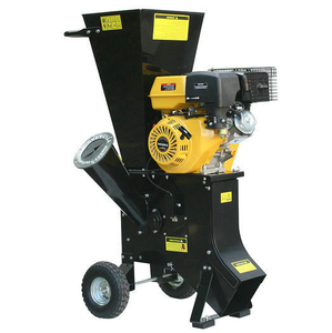 18HP Stand Style Wood Branch Shredder, Garden Chipping Machine