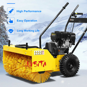 6.5HP 60cm Width Gasoline Sweeper with CE Approval