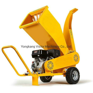 15HP Petrol Engine Wood Chipper Shredder