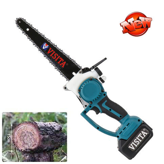 "12"" Sharp Guide Bar Rechargeable 21V Lithium Battery Cordless Chainsaw"